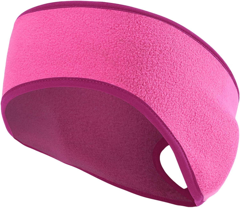 Unisex Warm Knit Earmuffs Ladies Cashmere Winter Pure Color Outdoor Fur Earwarmer, Adjustable Wrap