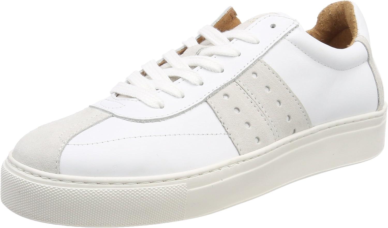 Selected Women's Sfdina Leather Low-Top Sneakers