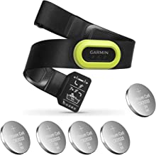 Garmin HRM-Pro, Premium Heart Rate Strap, Real-Time Heart Rate Data and Running Dynamics Black Bundle with 5 Extra Batteri...
