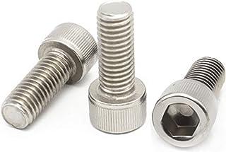 M8-1.25 X 70mm Metric Aspen Fasteners Socket Head Cap Screws AISI 304 Stainless Steel Hex Socket Drive DIN 912 18-8 6 pcs
