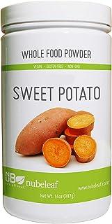 Nubeleaf Sweet Potato Powder 14 Ounce Jar