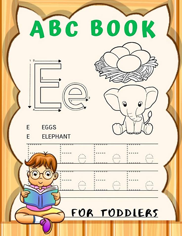 警報経由で悪党ABC Book For Toddlers: Cursive Handwriting Workbook for Kids, Alphabet Book, Baby Book, Children's Book, Toddler Book,  3-in-1 Writing Practice Book, Words & Sentences.