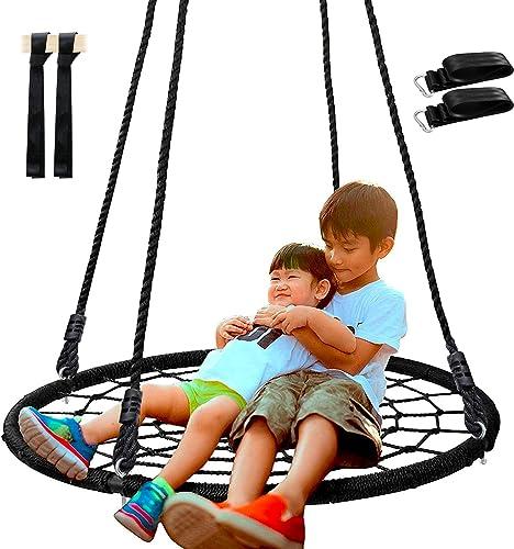 SUPER DEAL Spider Web Tree Swing - Best Swings Sets For Older Kids