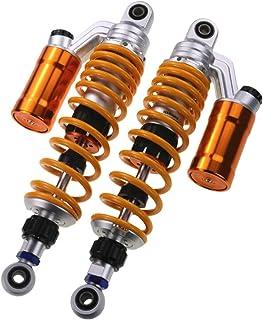 MSFDOG Motorfiets Achterschokdemper 310mm-350mm Geschikt voor de meeste Motorfietsmodellen Motorfietsonderdelen (Color : 3...