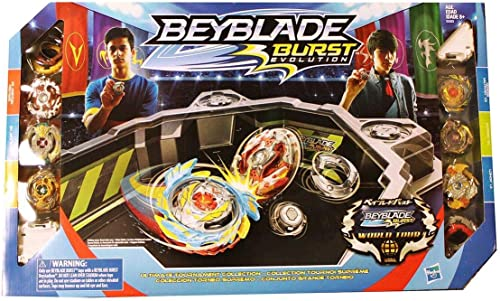 Hasbro Beyblade Burst Evolution Ultimate TournaHommest Collection hauts & Beystadium