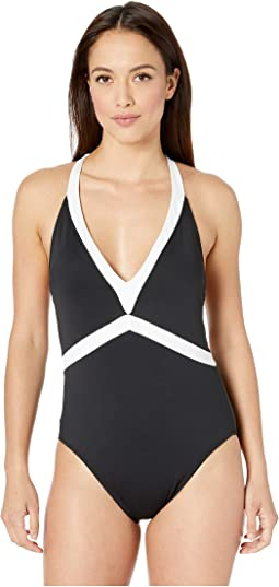 Bel Aire V-Neck Mio One-Piece