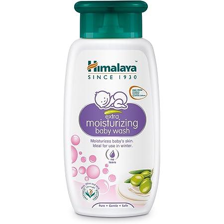 Himalaya Baby Care Extra Moisturizing Baby Wash, 100ml