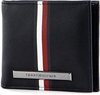 W x H x L 2x9.6999999999999993x13 cm Bolsa y Cartera para Hombre Marr/ón Coffee Bean Tommy Hilfiger Harry CC and Coin Pocket