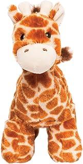 "Manhattan Toy Little Voyagers Olive Giraffe 9.5"" Stuffed Animal"