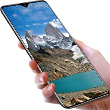 L-PH Android 9.1 10 Core Fingerprint Face ID Unlock Smart Phone/6.3 inch Dual 4G LTE +Dual SIM Big Screen Phone (Color : Black, Size : 6+64g)