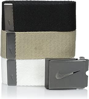 Nike Men's 3 Pack Golf Web Belt