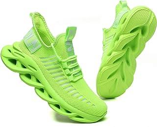 GSLMOLN Sportschoenen voor heren, lichtgewicht, hardloopschoenen, sneakers, vrije tijd, ademende fitnesstrainer, maat 39-4...