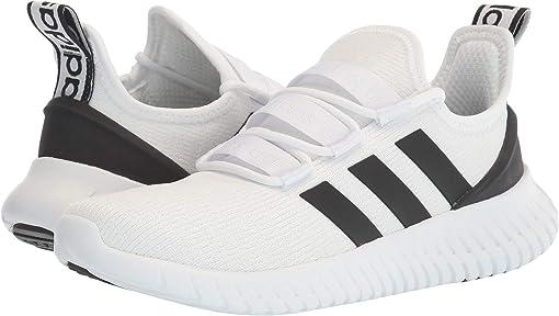 Footwear White/Core Black/Bright Yellow