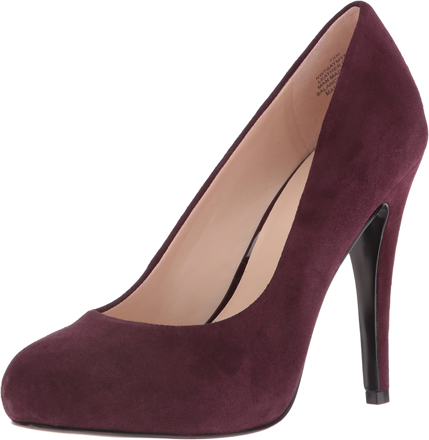 Nine West Womens Saymyname Suede Dress Pump