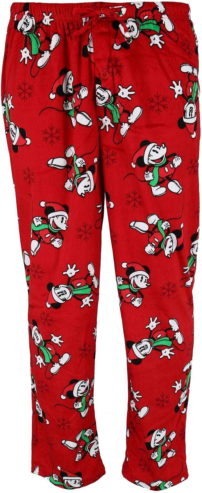 Disney Pantalones de salón Mickey Mouse para hombre