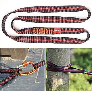 Boaton 48'' Climbing Utility Cord, Nylon Sling Runners, Tree Climbing Gear, Rigging Tool for Tree Work, Rock Climbing, Res...