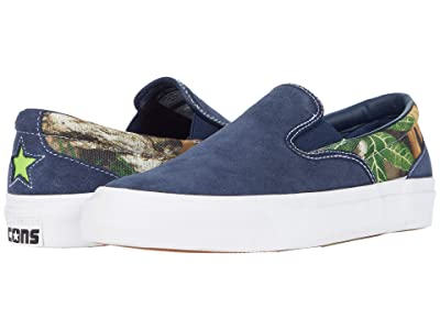 Converse Skate One Star CC Slip Core Slip (Obsidian/Brown/Bright Pear) Slip on Shoes