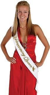 Beistle 60194 Homecoming Queen Satin Sash, 33