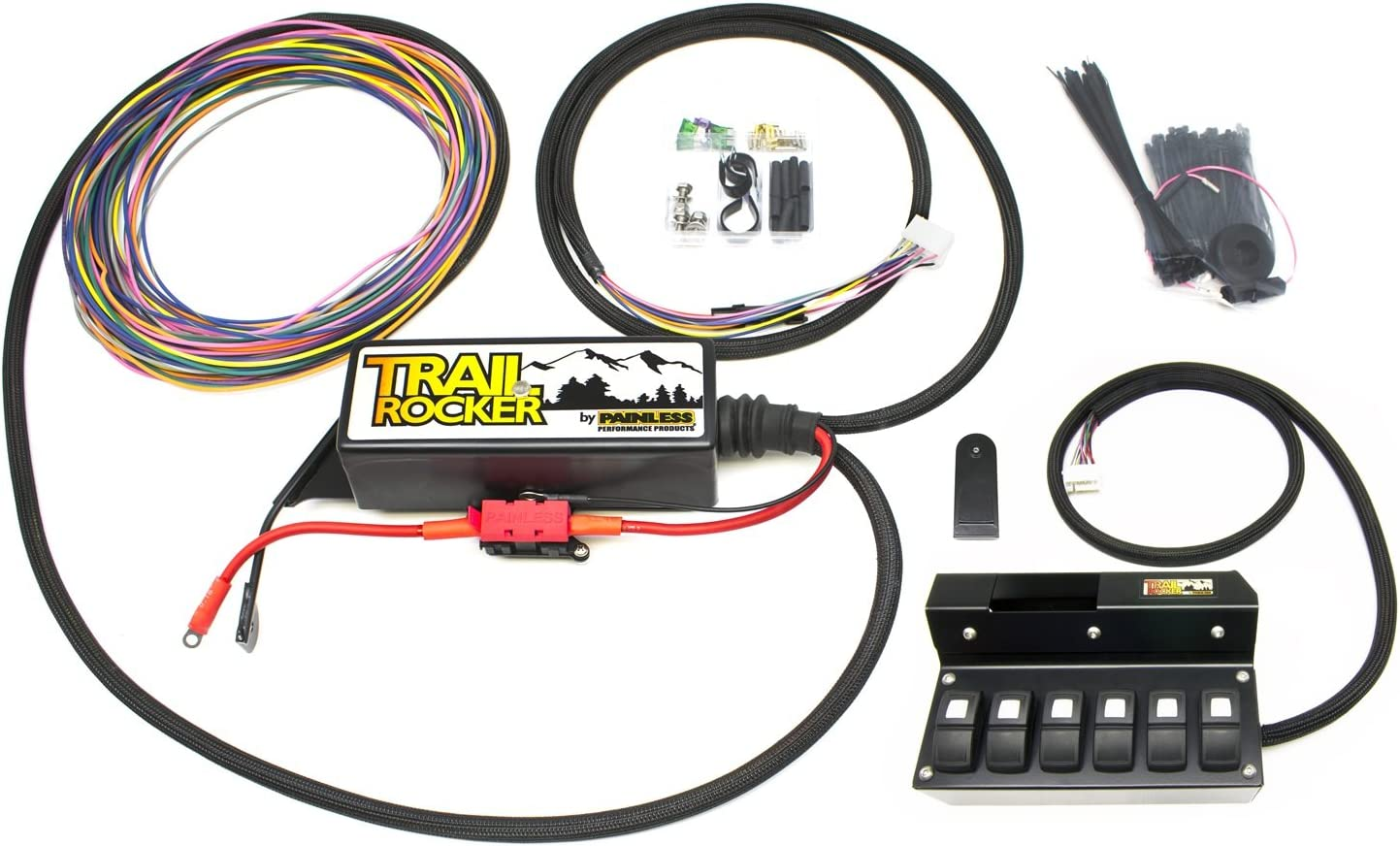 Painless Performance 57004 Trail Max 81% Miami Mall OFF Rocker for System 2009-2018 Jee