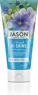 JASON Flaxseed Hi-Shine Styling Gel, 6 Ounce Tube