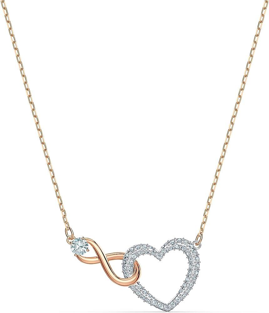 Swarovski collana infinity heart 5518865
