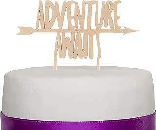 Best adventure awaits cake topper Reviews
