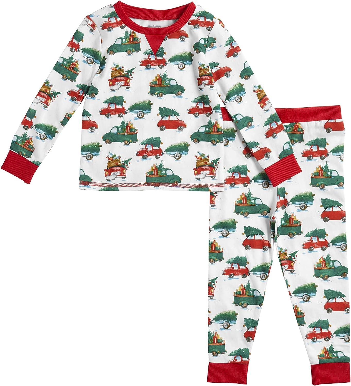 Mud Pie Baby Boys' Christmas Tree Pajamas