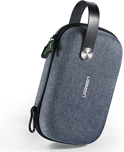 lowest UGREEN Electronics Organizer Travel Hard Case Gadget Bag External Hard Drive Carrying Case Portable wholesale EVA Shockproof for Power Bank Adapter, Type C Hub, USB Cable Charger, SD Card, Flash outlet online sale Drive, Phone outlet online sale