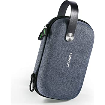 UGREEN Organizzatore Cavi da Viaggio, Cable Organizer Antiurto Impermeabile USB Custodia Borsa Accessori Elettronici Porta Cavi per Power Bank Hard Disk Phone Passaporto MP3 Airpods Caricatore ecc.