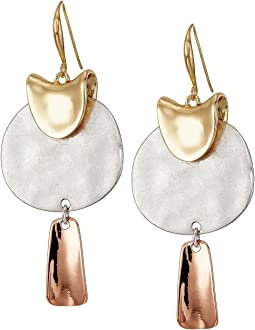 Robert Lee Morris - Sculptural Drop Earrings