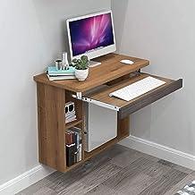 Drijvende plank Drijvende Tafel Ruimtebesparing Opknoping Computer Tafel Wandmontage Laptop Bureau voor Studie Slaapkamer ...
