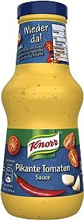 Knorr Schlemmersauce Pikante Tomate würzig-aromatisch mit Tomaten, Chili und Knoblauch, 6er Pack 6 x 250 ml