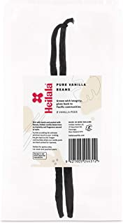 Vanilla Beans - Grade A Gourmet Bourbon Variety for Baking, Hand-Selected Whole Heilala Vanilla Beans from Polynesia, Ethically Sourced, the Choice of the Worlds Best Chefs & Bakers (2 Vanilla Beans)