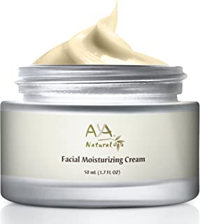 All Natural Face Moisturizer Day Cream - Vegan Daily Anti Aging Face Firming and Tightening Cream Facial Moisturizer for Dry Skin