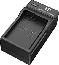 LP EN-EL14 EN EL14a Battery Charger, Compatible with Nikon D3100, D3200, D3300, D3400, D3500, D5100, D5200, D5300, D5500, D5600, DF, P7000 & More