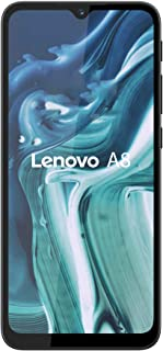 هاتف لينوفو ايه 8 مع ذاكرة روم 64 جيجا وذاكرة رام 4 جيجا، لون اسود