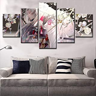 NATVVA Home Decor Anime Painting Wall Scroll Hot Inuyasha Sesshomaru Cosplay