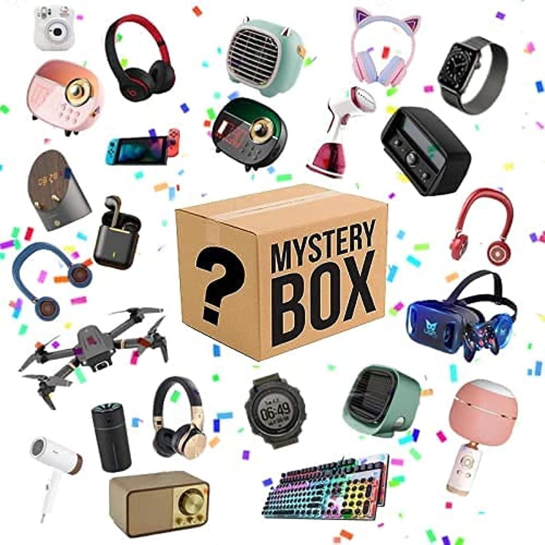 Super intense SALE Mystery Box Cheap Electronics Boxes Random Birt