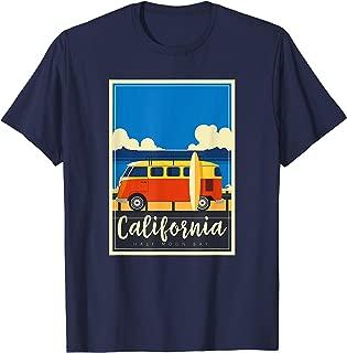 California Surfing Mavericks Half Moon Bay Summer Surf Gift T-Shirt