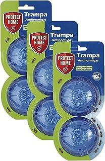 Protect Home Cebo para Hormigas en Gel, antihormigas para Uso Interior y Exterior, 2 trampas (Pac...