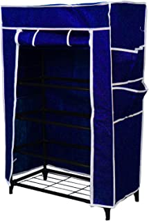 HOME PRO SHOE RACK CABINET STORAGE CLOSET ORGANIZER 5 LAYER WITH COVER FOR DUST RESISTANT