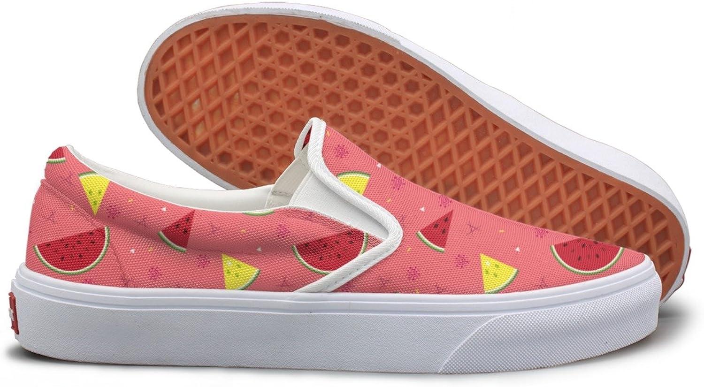 SEERTED Summer Fresh Yellow Watermelon Sneaker Women shoes