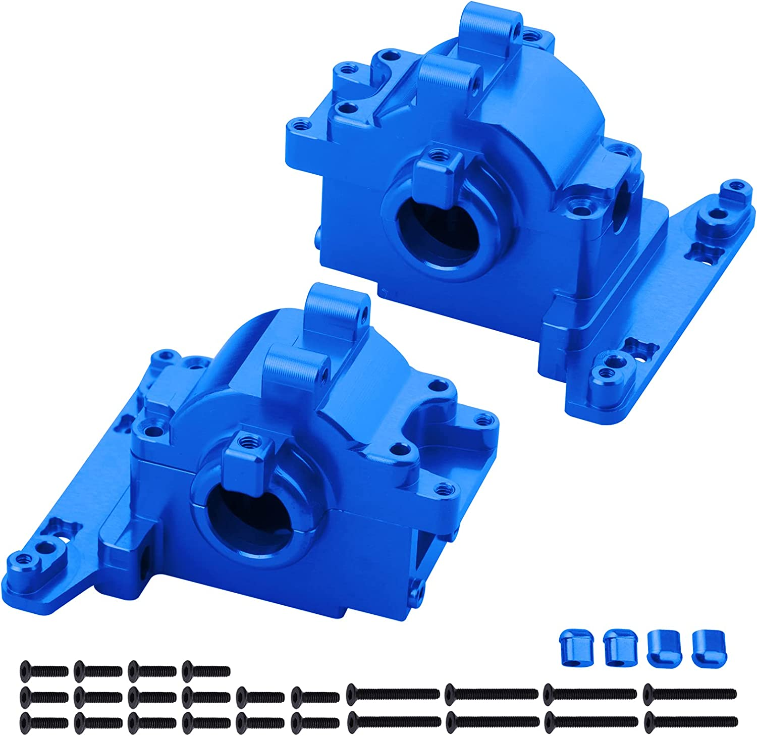 Hobbypark Max 44% OFF Aluminum Differential Housing Bulkhead Finally resale start Rear Up Front
