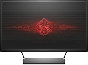 OMEN by HP 32-inch QHD Gaming Monitor with Tilt Adjustment and AMD FreeSync Technology (Black)