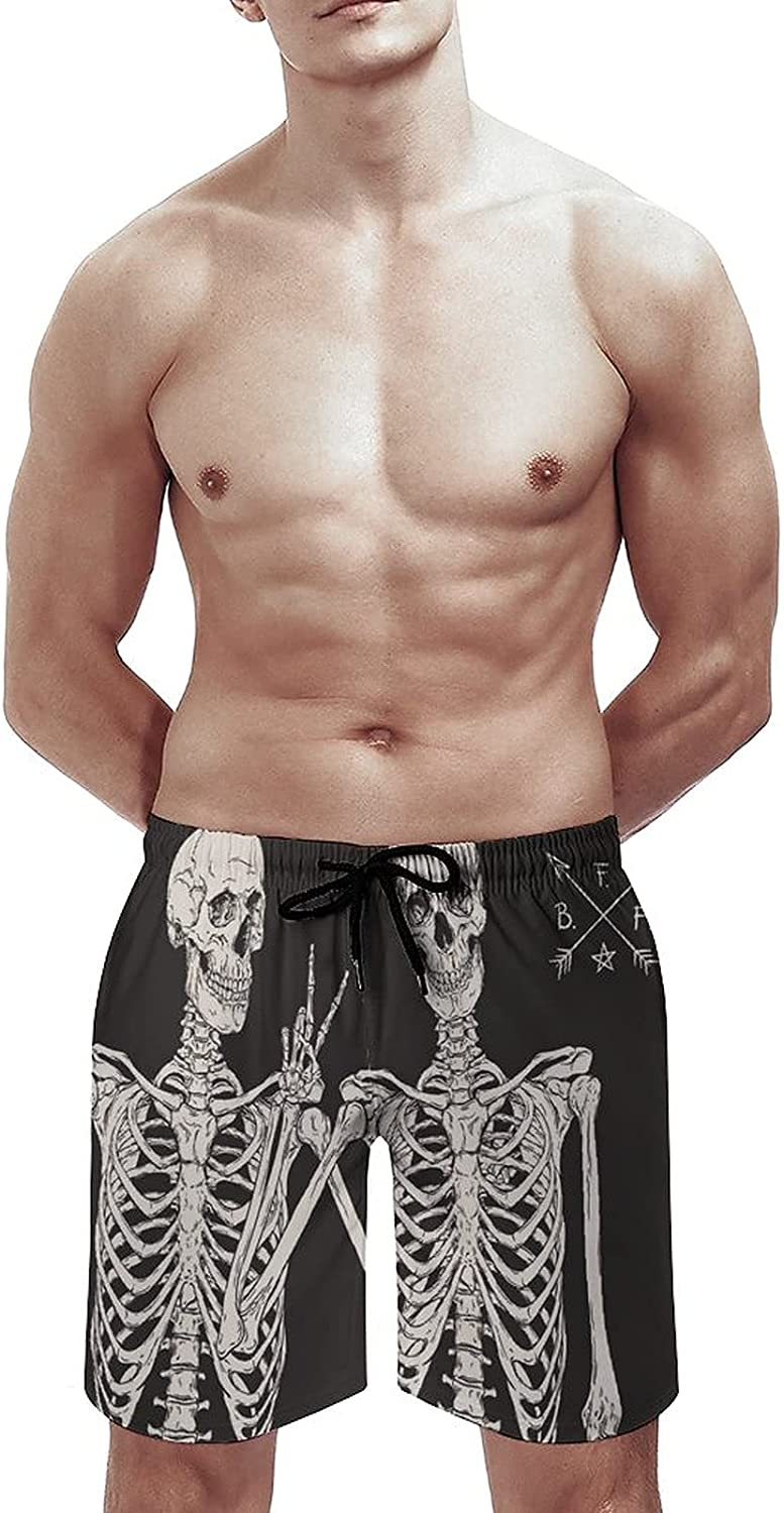 AngelSept Men's Sportwear Checkers Seamless Pattern Quick Dry Board