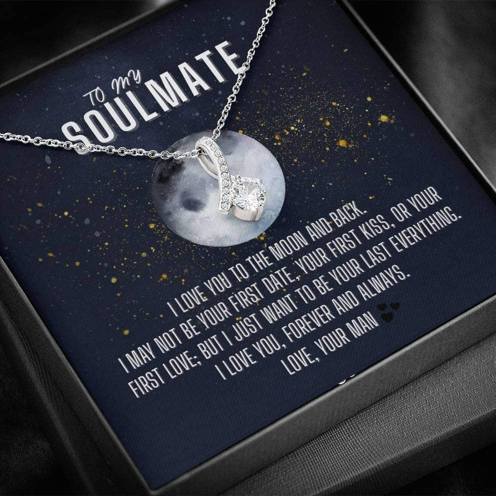 To My Discount mail order Soulmate Necklace Jewelry Deluxe Her Gift For