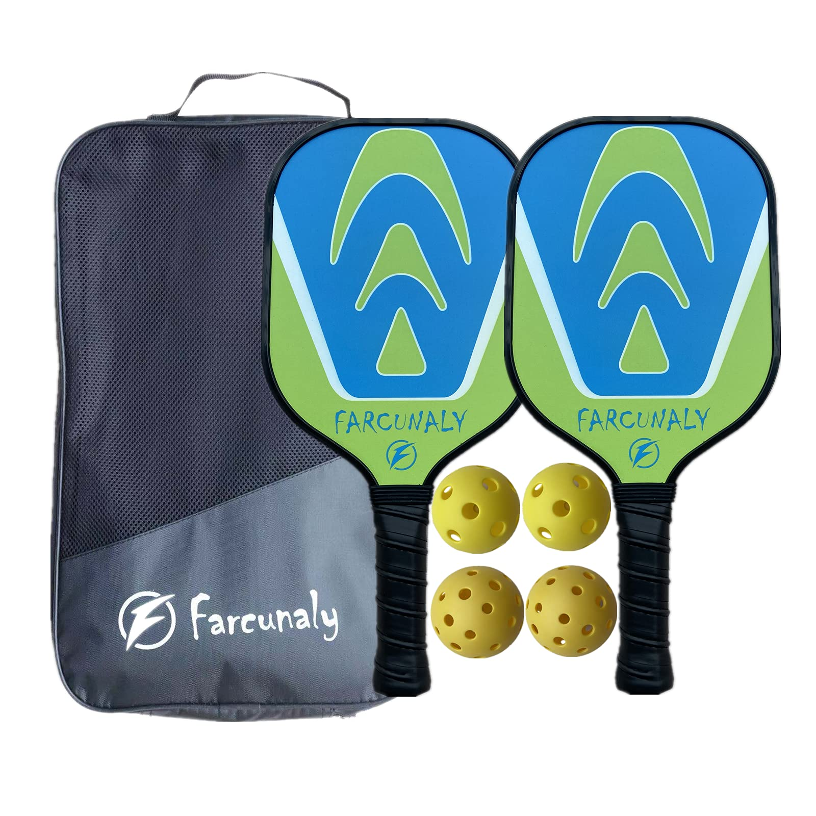 Graphite Pickleball Paddle Set Light weight Honeycomb  -PSCN