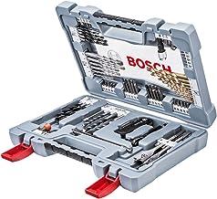 Bosch Premium X-Line Juego de brocas 31 pieza(s) - Brocas (Taladro, Juego de brocas, Concreto, Metal, Madera, Mango cilíndrico, 3-10, Gris, Acero inoxidable)
