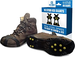 Best anti slip ice grippers for shoes Reviews