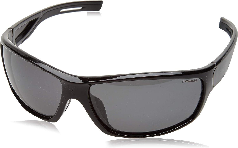 Polaroid lunettes de soleil Mixte Noir